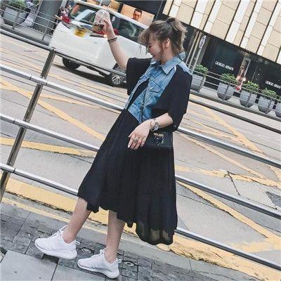 韩版宽松显瘦裙
